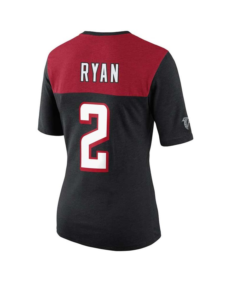 Nike Women's Atlanta Falcons Matt Ryan My Player Name and Number T-Shirt