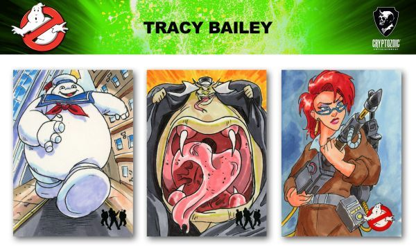 Ghostbusters trading cards sketch previews part 4 | Cryptozoic Entertainment