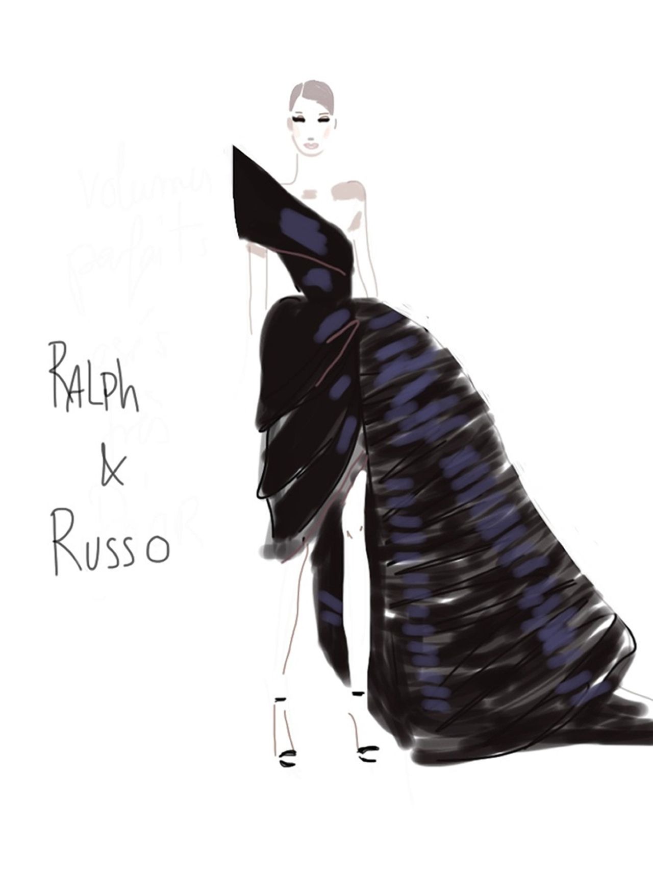 Pingl par pepita sur fashion illustrations - Dessin de couture ...
