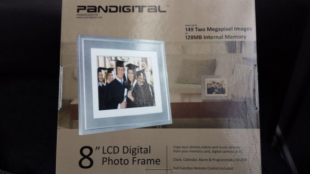 Pandigital Pandigital PAN8051 TouchScreen 8 inch Digital Photo Frame ...