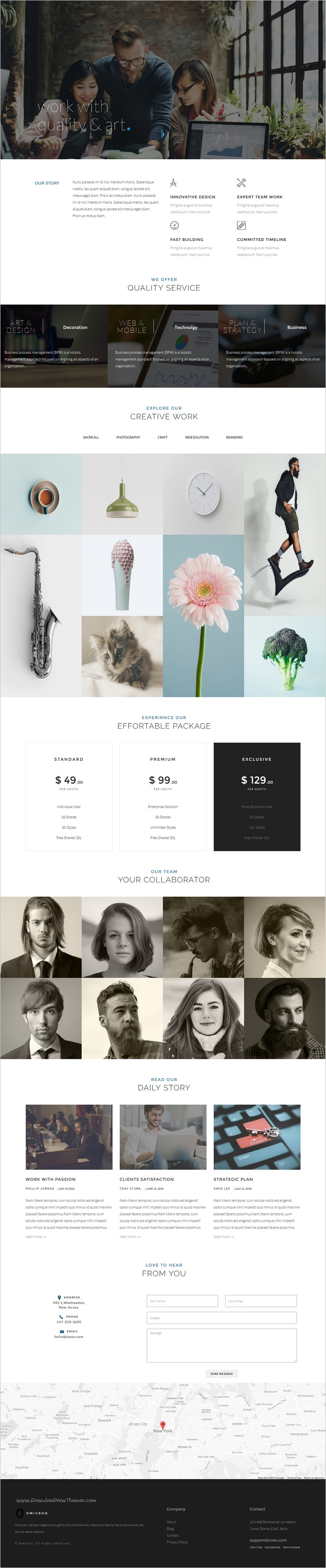Omicron is wonderful one page 6in1 #bootstrap HTML theme for multipurpose #onepage #business websites download now➩ https://themeforest.net/item/omicron-one-page-multipurpose-html-template/18858692?ref=Datasata