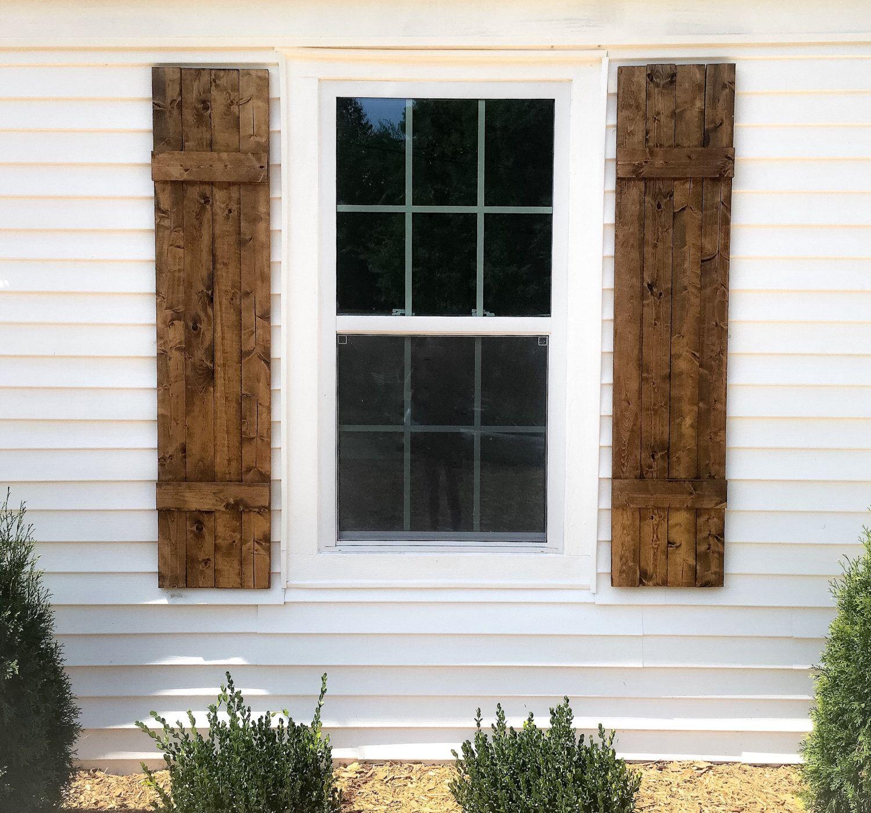 Wooden Shutters By Weekswayfaring On Etsy Https Www Etsy Com