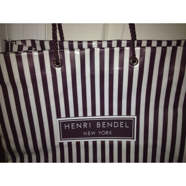 Reusable HB tote with satin (lavender ) lining.