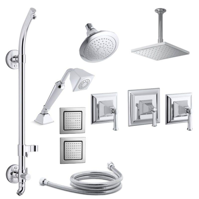 Kohler K Memoirs Dms18hr 4s Shower Systems Shower Heads Rain Head