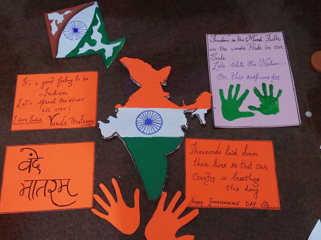 Creative Ideas For Independence Day Of India Project For Kids
