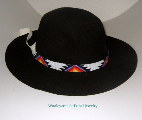 cb47c5e0c43ab Native American Beaded Hat Bands