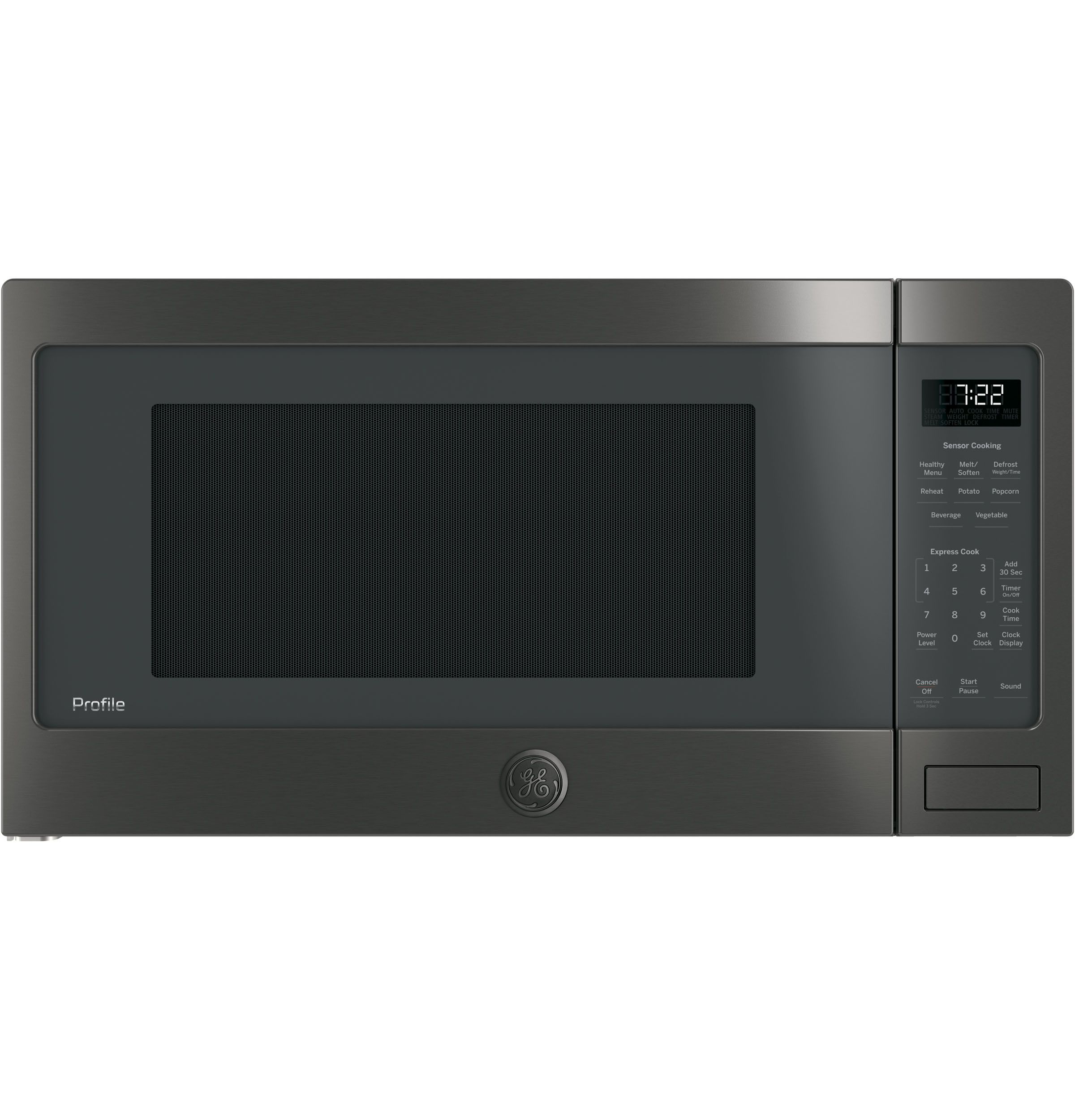 Ge 0 7 Cu Ft Countertop Microwave White Countertop Microwave