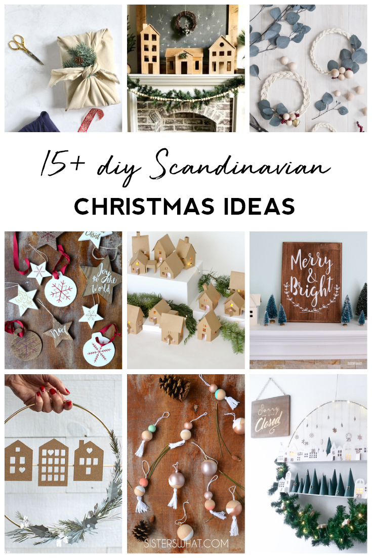 15 Diy Scandinavian Christmas Ideas In 2020 Scandinavian Christmas Scandinavian Christmas Decorations Hand Lettered Christmas