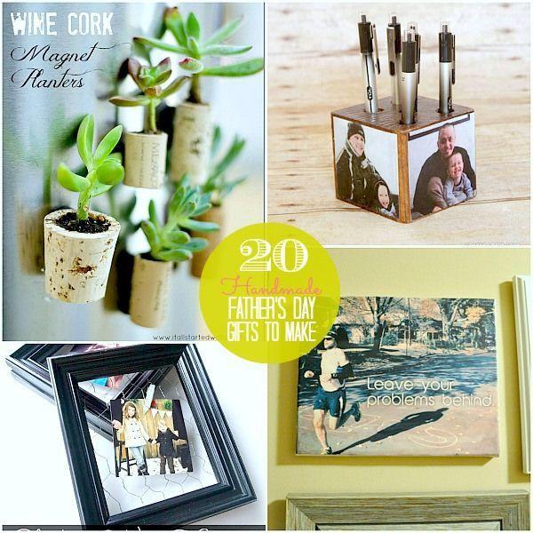 Great Ideas -- 20 DIY Father's Day Gift Ideas!!