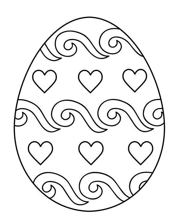 Pin von Gala\'sART auf Пасха | Pinterest | Ostern, Malvorlagen ostern ...