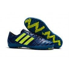 Nuevas Botas De Futbol Adidas Nemeziz 17.3 TF Azul Oscuro Volt ... 7c688c1150f69