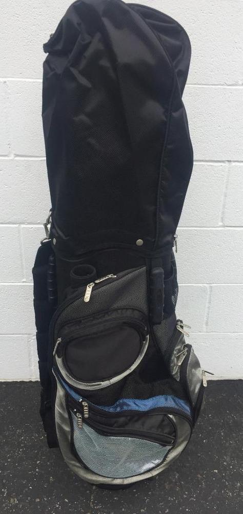 Acuity Cart Golf Bag Padded Shoulder Straps 6 Way Divider Good Co