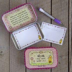 Mom Prayer Box