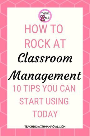 Teaching with Mama Owl - Classroom Management Tips