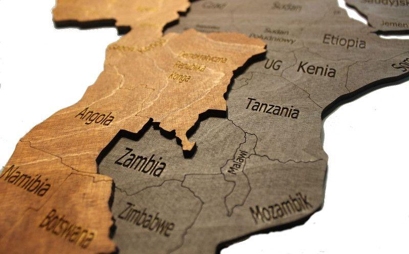 Drewniana Mapa Swiata 3d Pogrubiona 200 X 100 Cm With Images