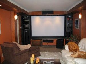 Cozy Home Theatre With Gadgets From Bosch Dream Home