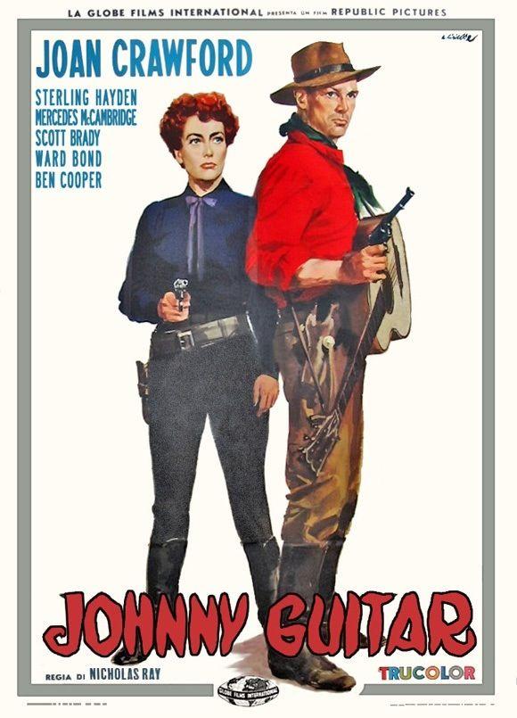 Johnny Guitar (1954) Joan Crawford, Sterling Hayden, Mercedes McCambridge, Scott Brady