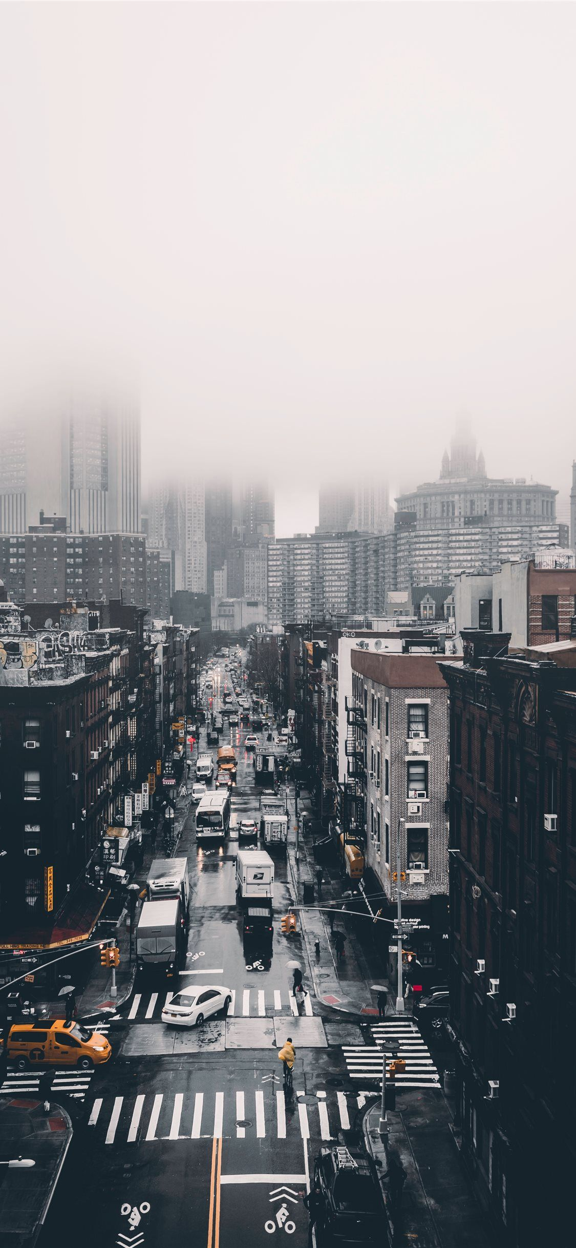 Foggy Day Iphone X Wallpapers Landscape Wallpaper Iphone