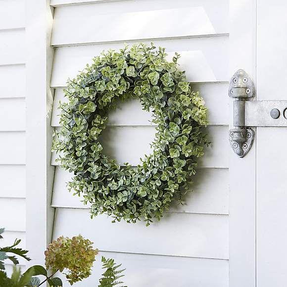 Photo of Artificial Eucalyptus Wreath
