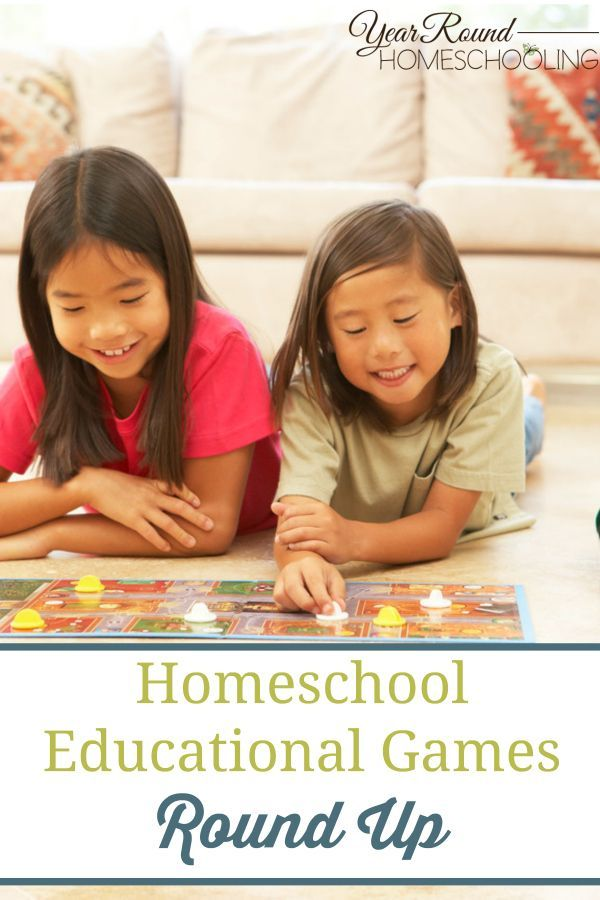 Homeschool Educational Games Round Up - By Misty Leask