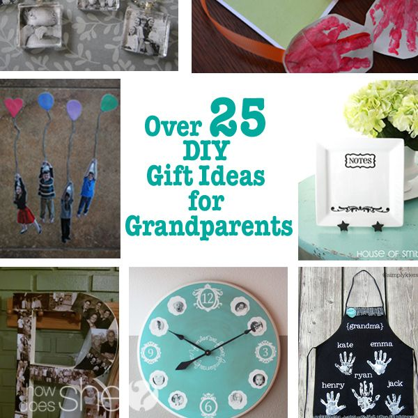 Homemade Christmas Gifts For Grandpa: Grandparent Gifts, Diy