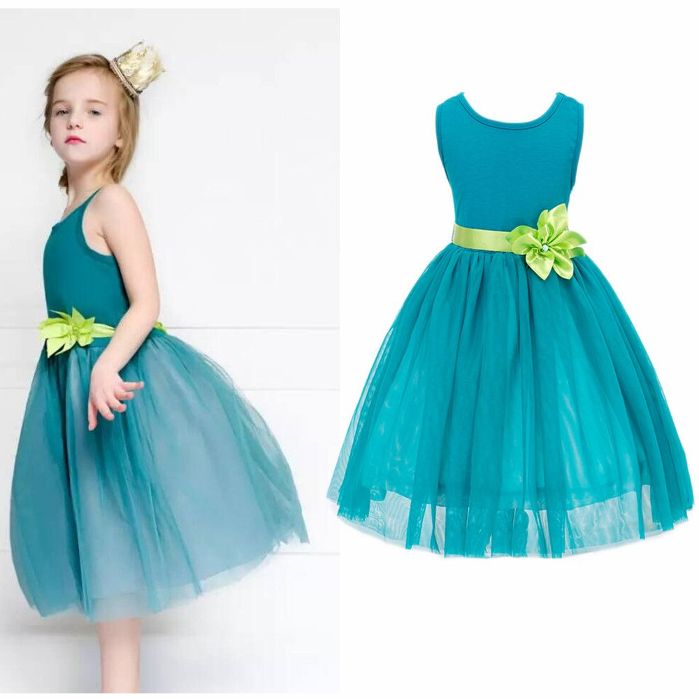 Click to Buy << 3-10Y Baby Kid Child Girls 5Color Sequins Party ...