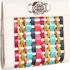 If you love to live life weaving your way through the wondrous world of fashion, then you'll love this colorful Brighton wallet!