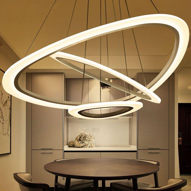 Reviews Led Pendant Lights For Living Room Kitchen Ac110 260v Dimming Lamp Home Decoration Lighting Lampara De Techo Para Sala De Estar Sales Led Pendant Ligh