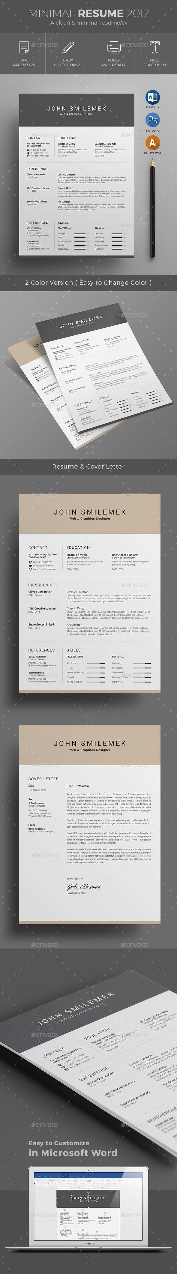 Resume Resume Design Template Resume Template Best Resume Template