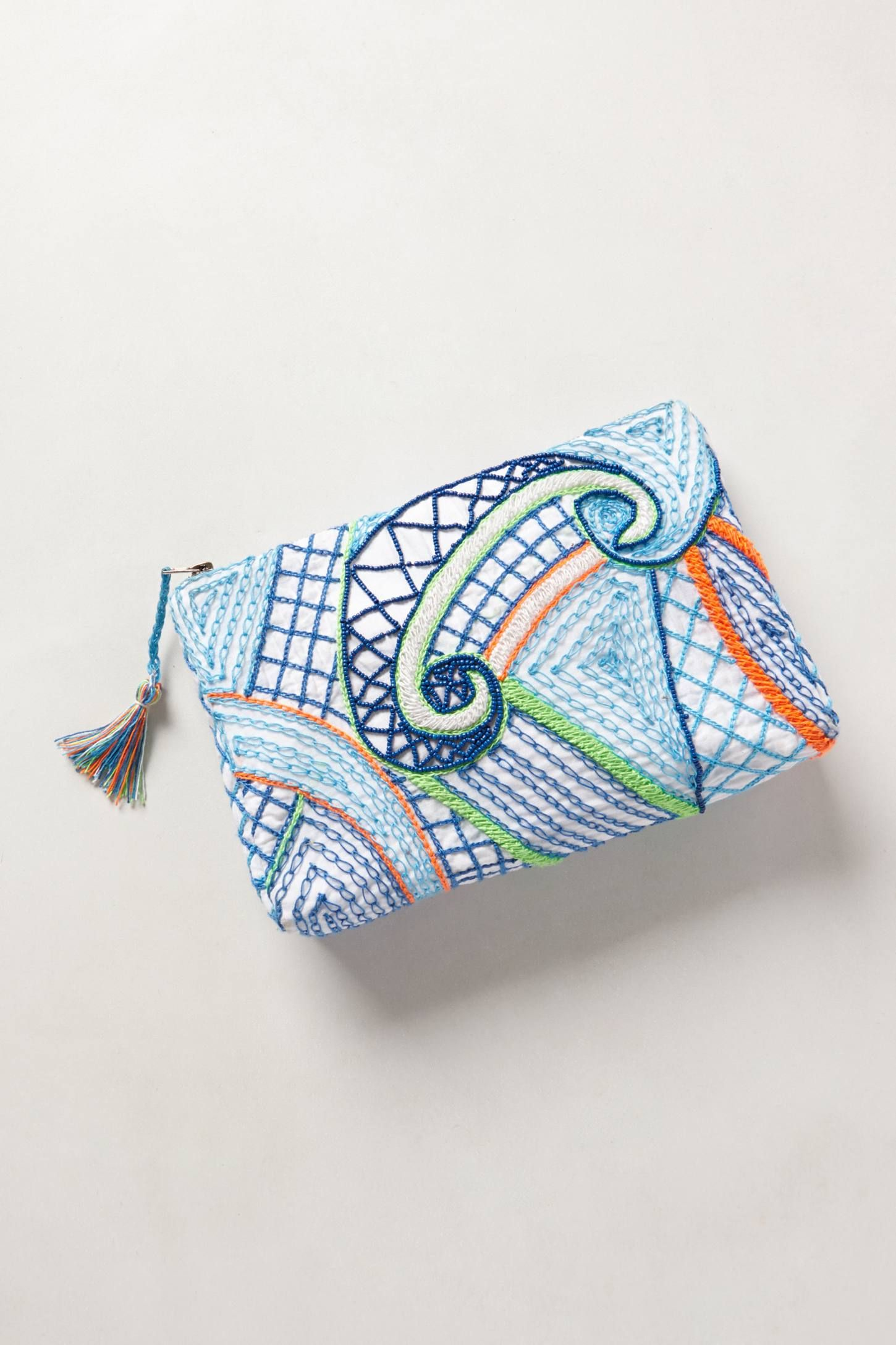 Mirabilis Pouch - anthropologie.com