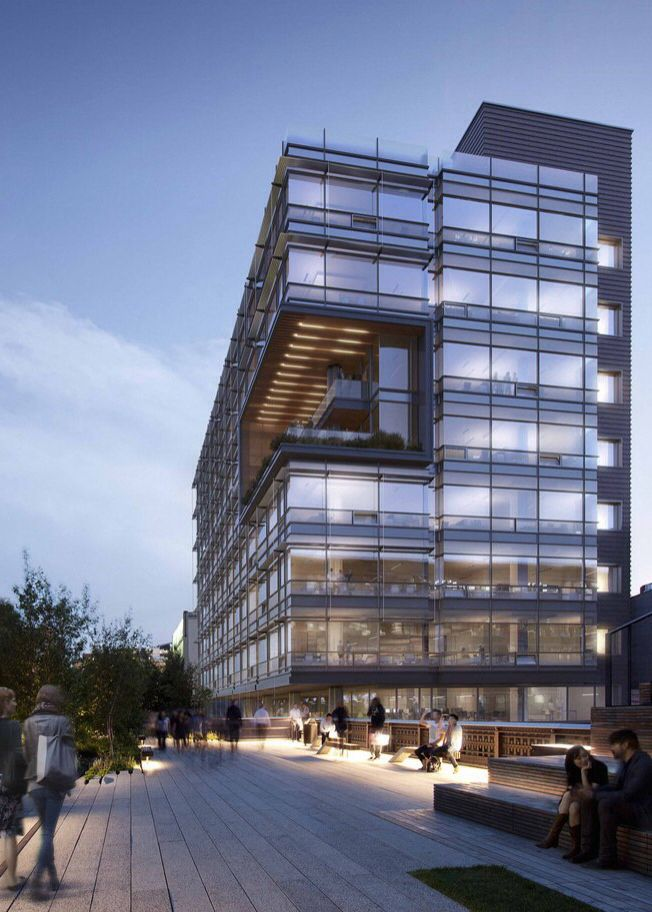 510 West 22nd Street COOKFOX Architects minimal Pinterest