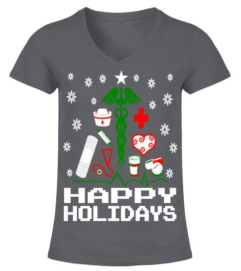 Nurse Christmas Tree Tshirt Christmas Gift Ideas For Nurse Pinterest