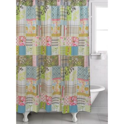 Kaluwa Patchwork Shower Curtain Multi With Images Curtains