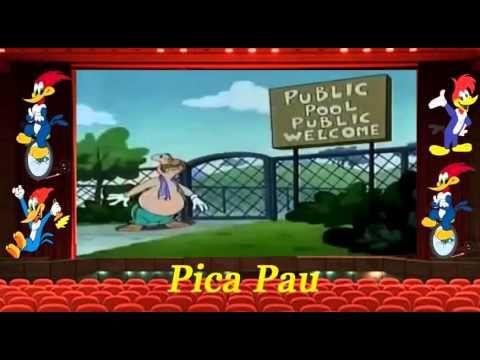 Desenhos animados em portugues completos | Pica-pau Especial de Natal: P...
