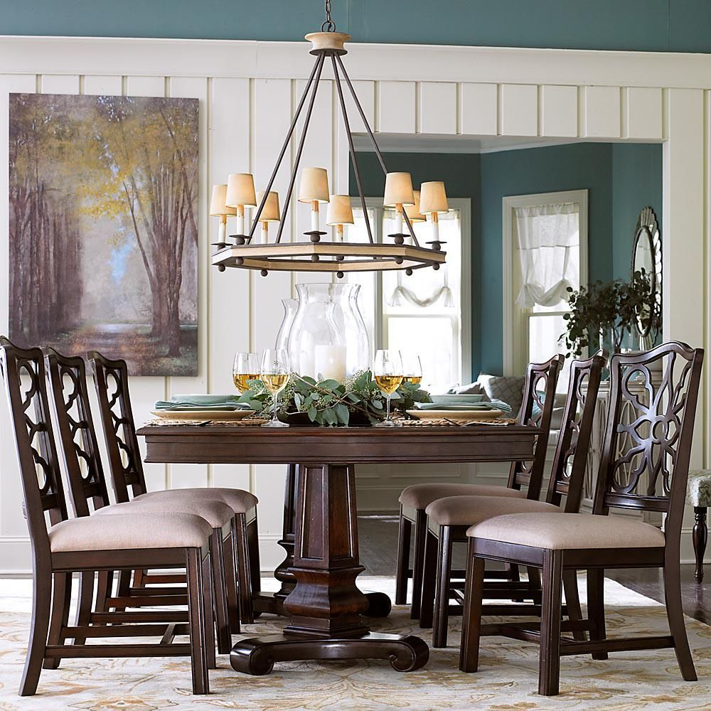 Room · Moultrie Park 7 Piece Dining Set By Bassett