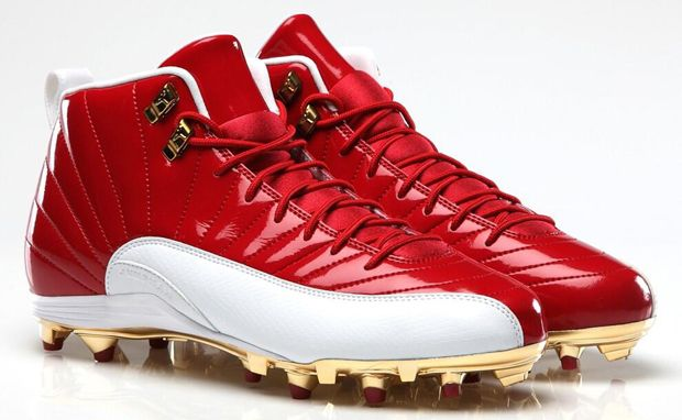 new concept fae72 43e5c AIR JORDAN 12 MICHAEL CRABTREE PE CLEAT