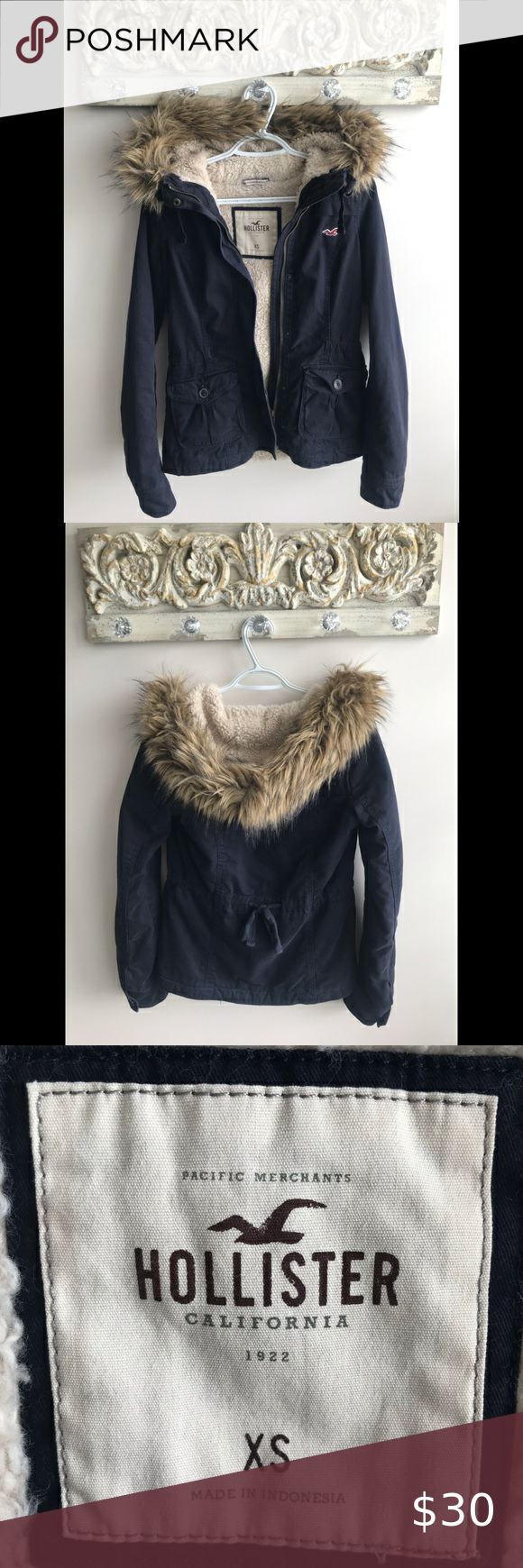 Hollister Winter Jacket In Excellent Condition Only Worn Once Hollister Jackets Coats Jackets Winter Jackets Hollister Jackets [ 1740 x 580 Pixel ]
