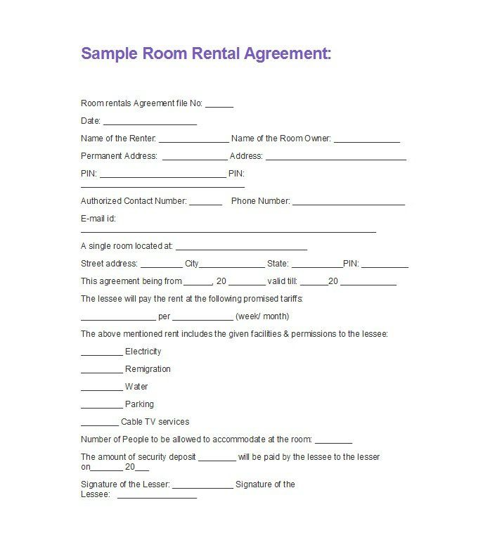 Lease Agreement Word Template 13 Rental Agreement Templates  Word Excel & Pdf Templates  Www .