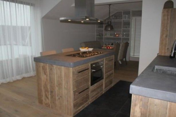 En tuin inspirat steigerhout keuken cyamidtracker
