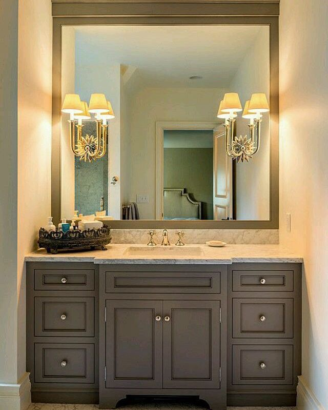 drilling holes in mirror for light fixtures is difficult on custom bathroom vanity mirrors id=84492