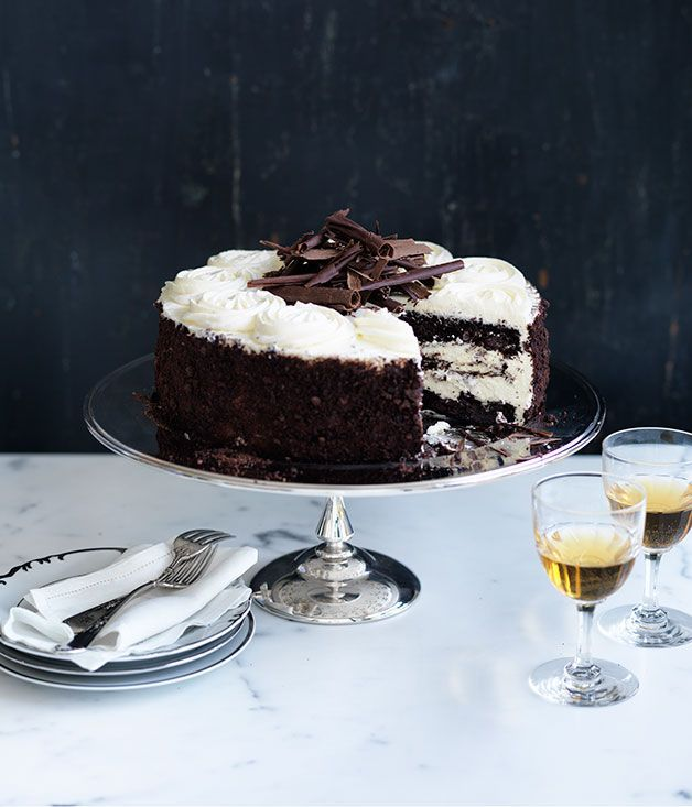 3 Black Forest Cake Recipe Gourmet Traveller Cakes Food I want
