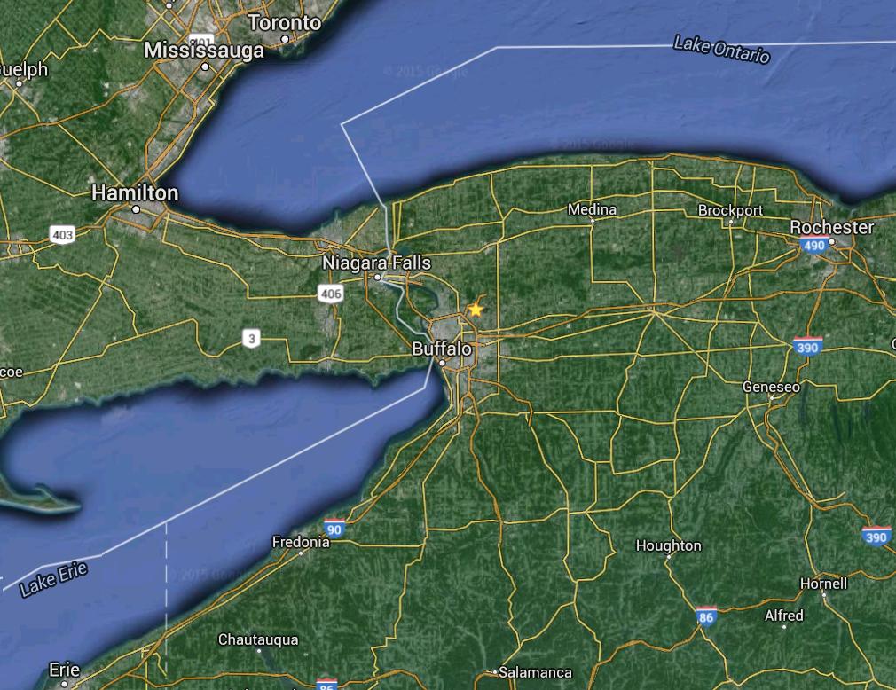 Quem esta visitando Niagara Falls pelo lado Americano e quer conhecer Toronto, uma boa opção é viajar de ônibus partindo da cidadedeBuffalo com destino a Toronto. Buffaloé uma cidade Americana p...