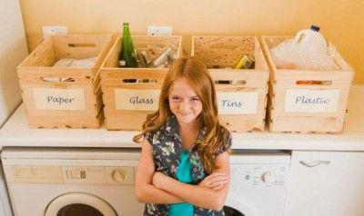 reciclaje ideas creativas para separar la basura en casa