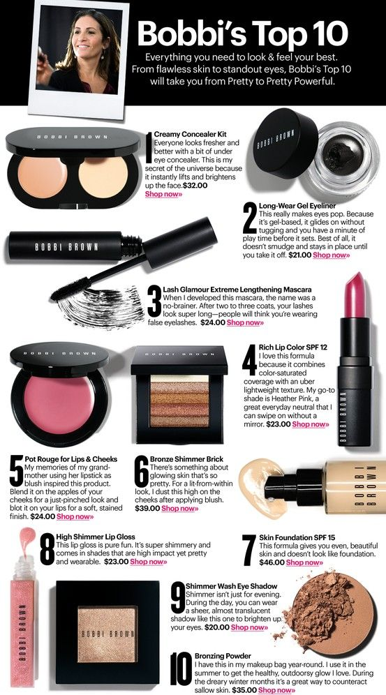 Bobbi Brown Makeup great for every day and bridal. Even