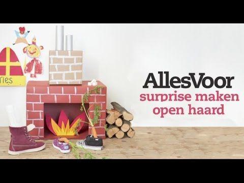 Knutselen voor sinterklaas een kartonnen schoorsteen als for Huis maken surprise