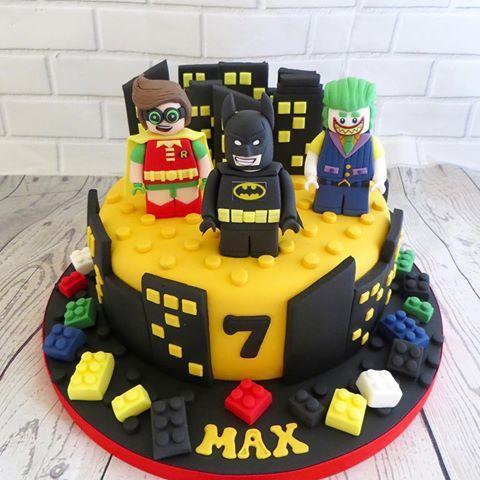 Awesome Batman Lego Cake Batman Movie Lego Cake Wonderboy Joker Personalised Birthday Cards Akebfashionlily Jamesorg