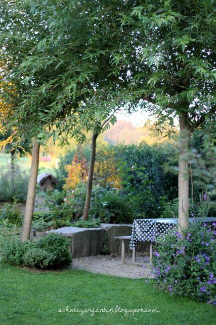 Ein Garten Blog Uber Das Neuanlegen Eines Gartens Nach Dem Hausbau Biologisches Gartnern Rosen Weidenbauten Vorhe Ein Schweizer Garten Garten Garten Pflanzen