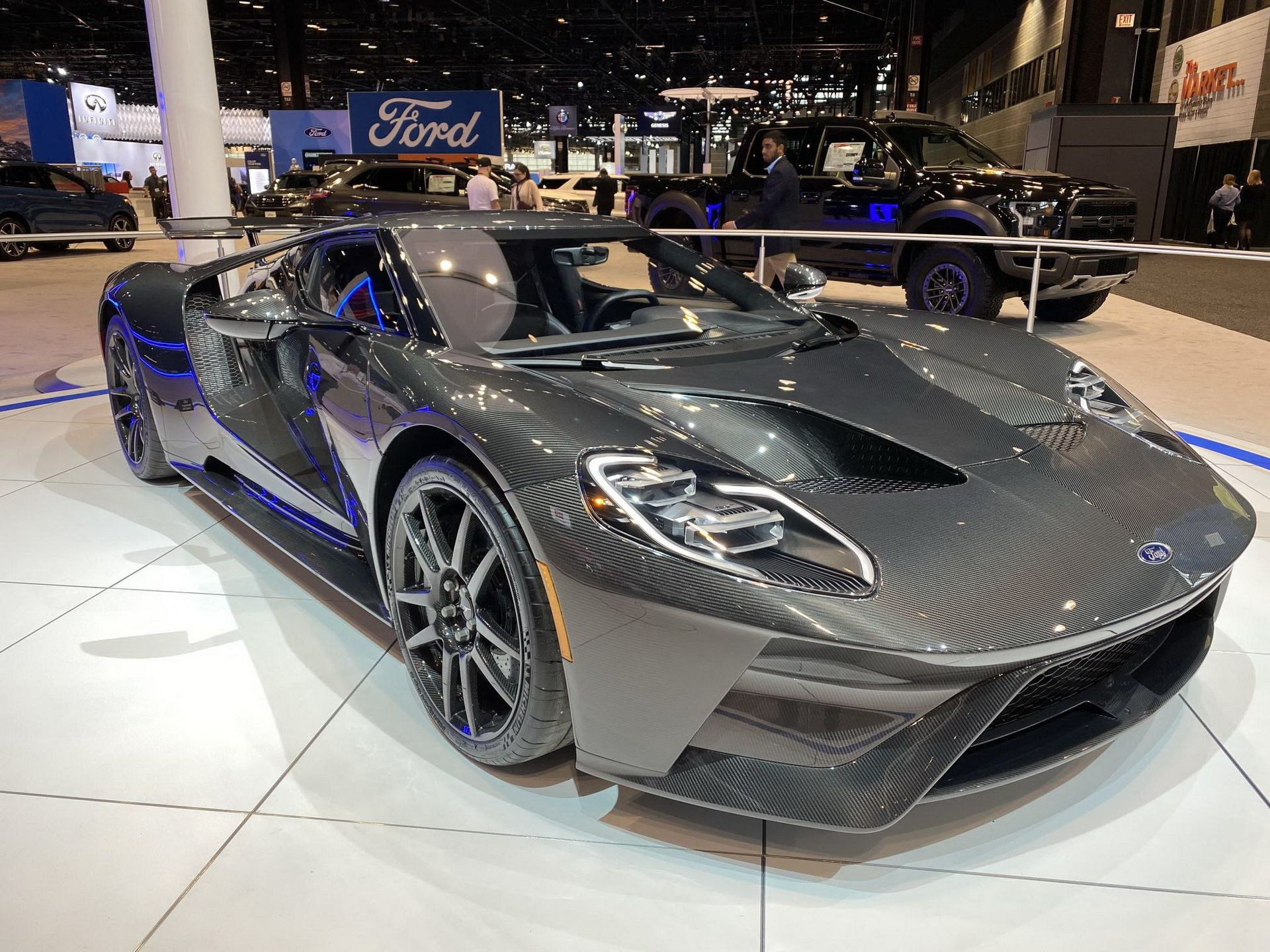 2020 Ford Gt Liquid Carbon Special Edition To Cost About 750 000