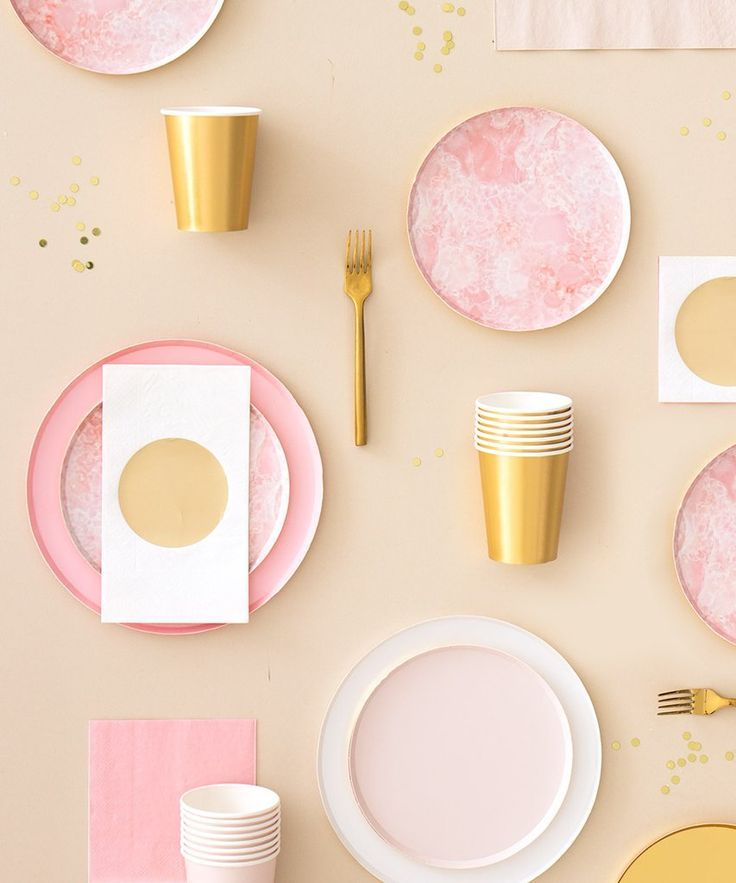 Oh Happy Day Rose Quartz Plates (Large) in 2020 Paper