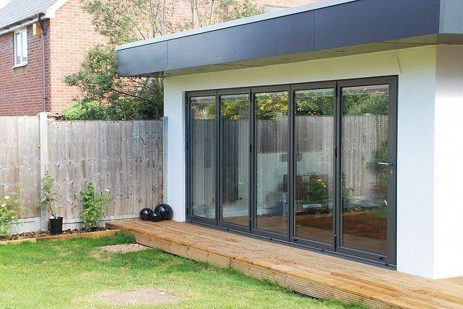 exterior sliding doors | SFK70 Aluminium folding sliding doors ...